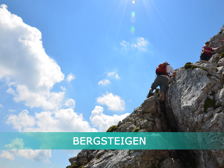 FerienHaus LÄNGAUER - Aktivitäten - Bergsteigen